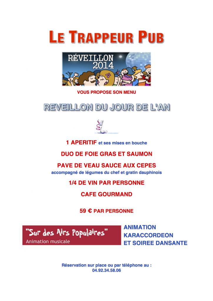 Flyer LE TRAPPEUR PUB (1 page) v2